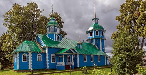 Церковь в честь Владимирской иконы Божией матери в селе Владимирское