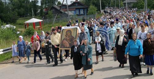 Престольный праздник Владимирской иконы Божией Матери в селе Владимирское